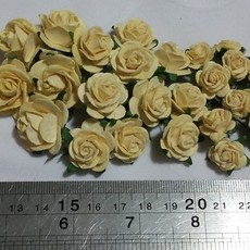 FLORES WILD ORCHID CRAFTS - KIT OPEN ROSES - CREAM