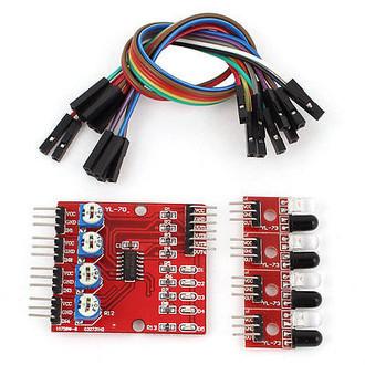 Sensor Seguidor De Linha 4 Infravermelho