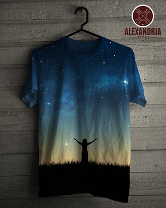 Camiseta Woman Space