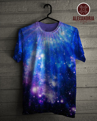 Camiseta Abstract Deep Universe