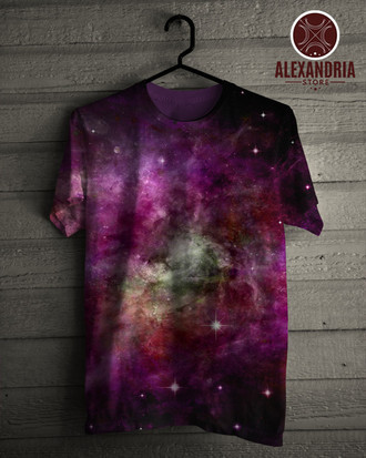 Camiseta Galaxy In a Free Space