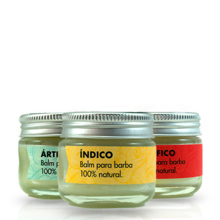 Kit 3 balms para barba Oceanos