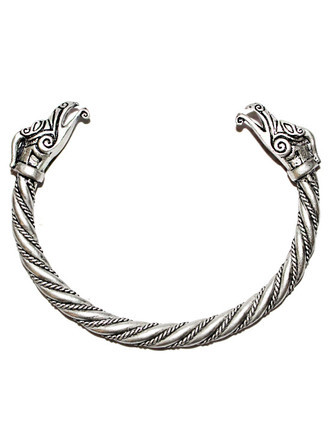 Bracelete Viking CELTIC DRAIG (dragão celta) - Torc