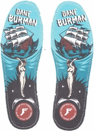 KINGFOAM INSOLES - 7mm - Dane Burman