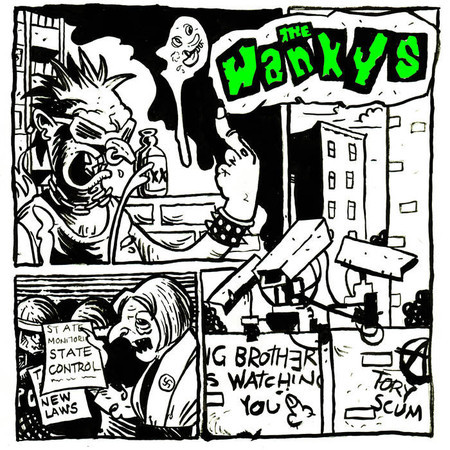 The Wankys – self-titled EP