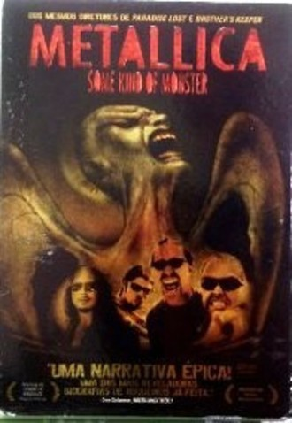 DVD METALLICA - SOME KIND OF MONSTER (DVD DUPLO/COM LUVA/NAC/USADO)