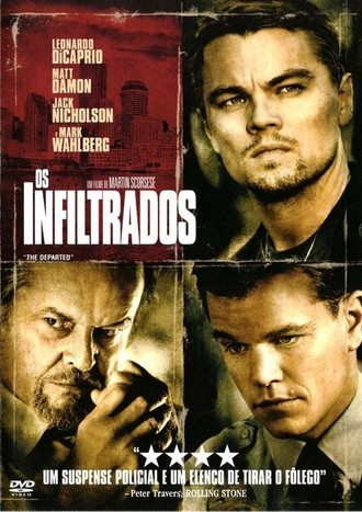 DVD OS INFILTRADOS (THE DEPARTED) (NACIONAL/USADO)
