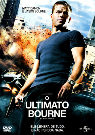 DVD O ULTIMATO BOURNE (THE BOURNE ULTIMATUM) (NACIONAL/USADO)