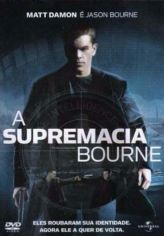 DVD A SUPREMACIA BOURNE (THE BOURNE SUPREMACY) (NACIONAL/USADO)