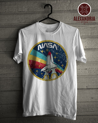 Camiseta Nasa Vintage Colors