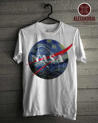 Camiseta NASA starry night