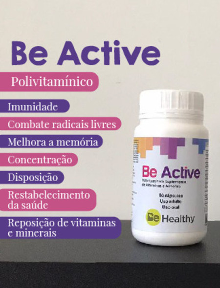 BE ACTIVE: POLIVITAMÍNICO