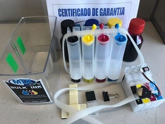 BULK INK CX5900 CX4900 + 400ML DE TINTA + VIDEO AULA
