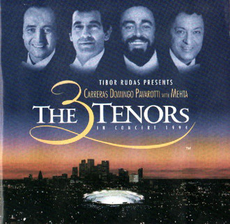 CD THE 3 TENORS IN CONCERT 1994 (IMPORTADO/USADO)