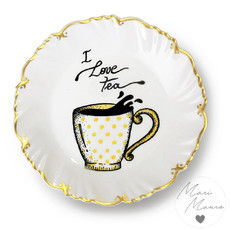Prato decorativo Tea (19,5 x 19,5)