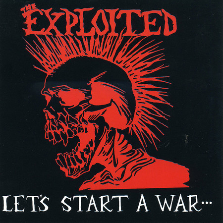CD THE EXPLOITED - LET'S START A WAR (NOVO/LACRADO)