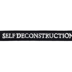 SELF DECONSTRUCTION Official Embroidered Patch