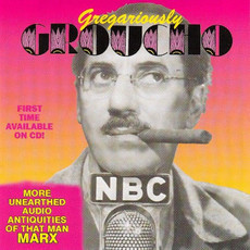 CD GROUCHO MARX - GREGARIOUSLY GROUCHO (IMPORTADO/USADO)