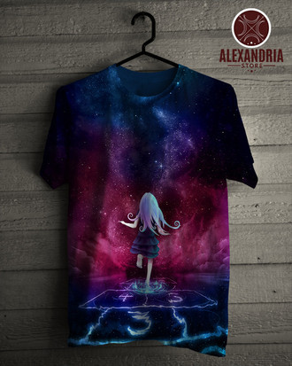 Camiseta Girl in Space