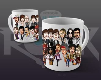 Mitos do Rock - Caneca Especial