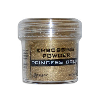 PÓ PARA EMBOSS - EMBOSSING POWDER RANGER - PRINCESS GOLD
