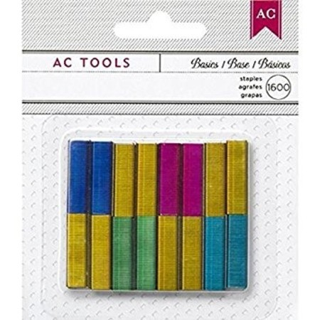 MINI GRAMPOS COLORIDOS - AMERICAN CRAFTS