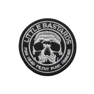 LITTLE BASTARDS Official Embroidered Patch