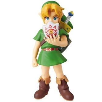 Medicom UDF The Legend of Zelda Majora Mask Link Kid