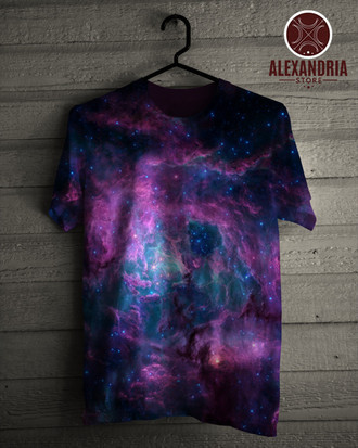 Camiseta Rose Nebula