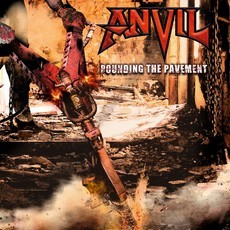 CD ANVIL - POUNDING THE PAVEMENT (NOVO/LACRADO)