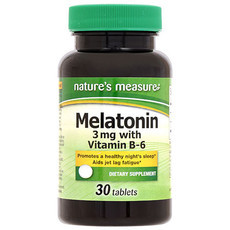 Melatonina Nature's Measure 3mg