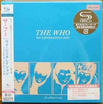 Cd The Who - My Generation Box ( Importado + Obi )