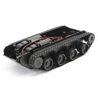 kit chassi Tanque tipo Lagarta 2WD