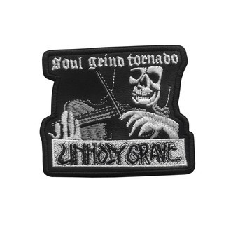 UNHOLY GRAVE Official Embroidered Patch