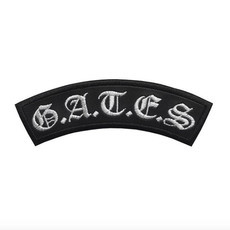 G.A.T.E.S.  Official Embroidered Patch