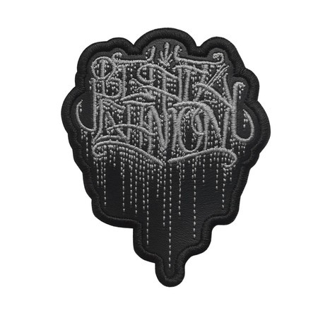 BLACK GANION  Official Embroidered Patch (Grey)