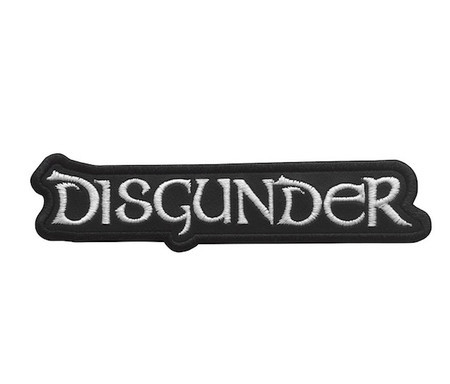 DISGUNDER Official Embroidered Patch