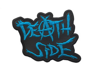 DEATH SIDE Logo 1 Official Embroidered Patch