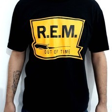 ​Camiseta R.E.M. - OUT OF TIME (COR PRETA) (REM)