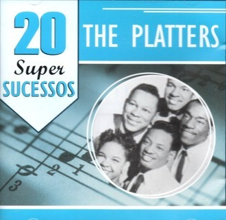 CD THE PLATTERS - 20 SUPER SUCESSOS (NACIONAL/USADO)