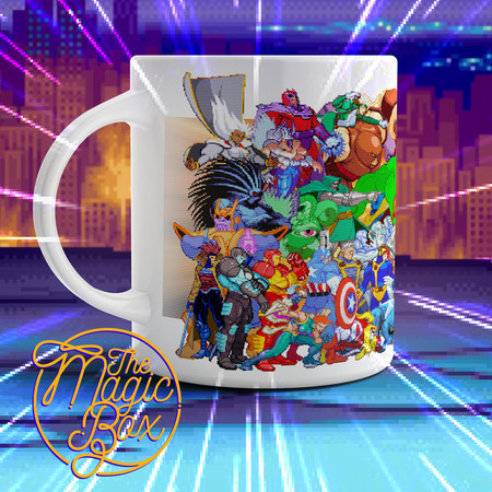 Caneca Marvel vs Capcom