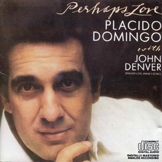 CD PLACIDO DOMINGO WITH JOHN DENVER - PERHAPS LOVE (NACIONAL/USADO)