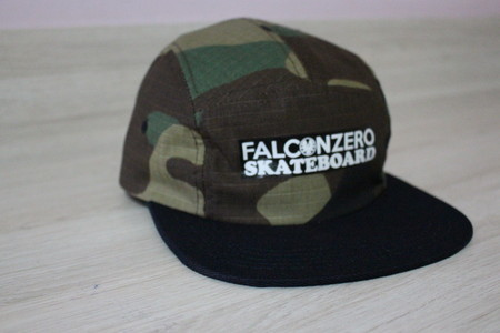 Boné Five Panel Camuflado 01 Falcon Zero Skateboard