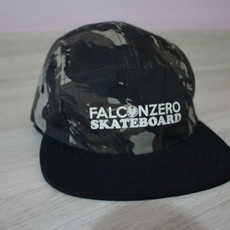 Boné Five Panel Camuflado 02 Falcon Zero Skateboard