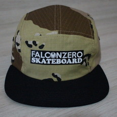 Boné Five Panel Camuflado 03 Falcon Zero Skateboard