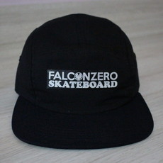 Boné Five Panel Black Falcon Zero Skateboard