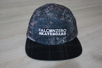 Boné Five Panel Guetto Falcon Zero Skateboard
