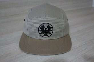 Boné Five Panel La Creme Falcon Zero Skateboard