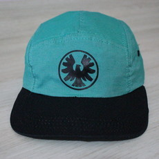 Boné Five Panel Verde Falcon Zero Skateboard