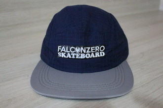 Boné Five Panel Blue Tack Tall Falcon Zero Skateboard